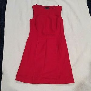 The Limited red wool dress